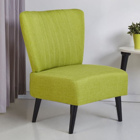 Gold Sparrow Fontana Armless Accent Chair
