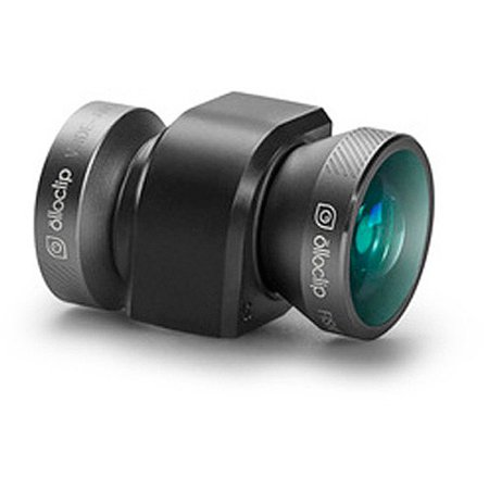 olloclip 4-in-1 Photo Lens for Apple iPhone 5/5S, Space Gray Modulator Gray Lens