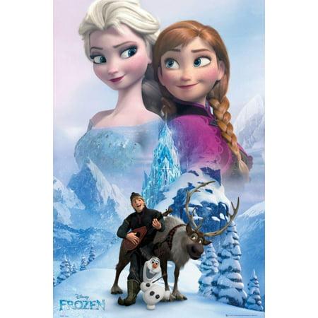 Frozen - Collage Poster - 24x36](Frozen Poster)