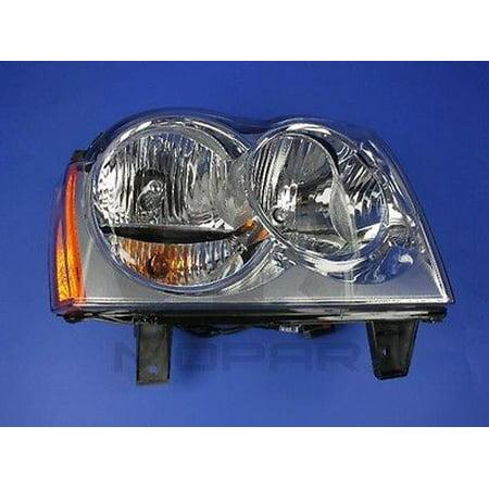 Headlight Combination Assembly MOPAR 55156350AK fits 05-07 Jeep Grand (Jeep Headlamp Assembly)