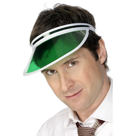 Poker Visor Costume Accessory, Complete your 80s fancy dress costume with the Poker Visor By - Pokey Costume