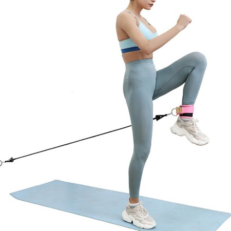 wall pulley for leg slimming unisex fitness resistance