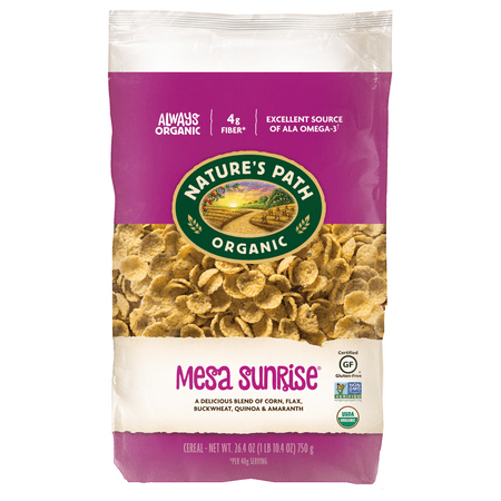 Nature's Path Organic Gluten-Free Cereal, Mesa Sunrise, 26.4 Oz Bag