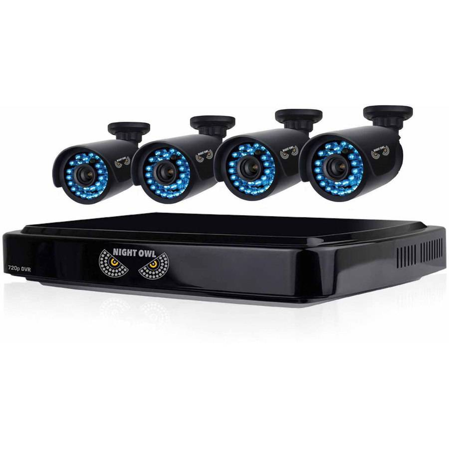 Night Owl 8-Channel Smart HD Video Security System with 4 HD Cameras