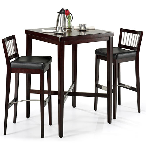 Home Styles Pub Table, Dark Cherry