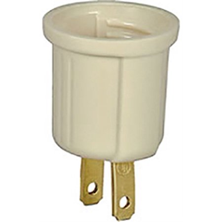 Part 738V-Sp Adaptor Outlet Socket Iv, by Cooper Wiring, Single Item, Great - Cooper Wiring Single