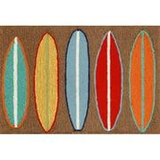 Liora Manne Frontporch Surfboards Area Rug
