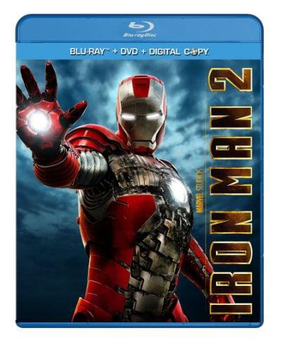 Paramount Iron Man 2 (Three-Disc Blu-ray/DVD + Digital Copy)