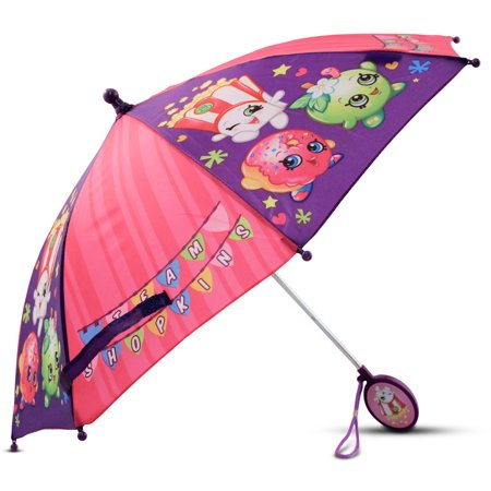 Little Girls Umbrella with Character Handle, Age 2-7 - Umbrella Kids