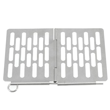 Mini Stainless Steel Folding Barbecue Basket Portable BBQ Grill Basket Grate