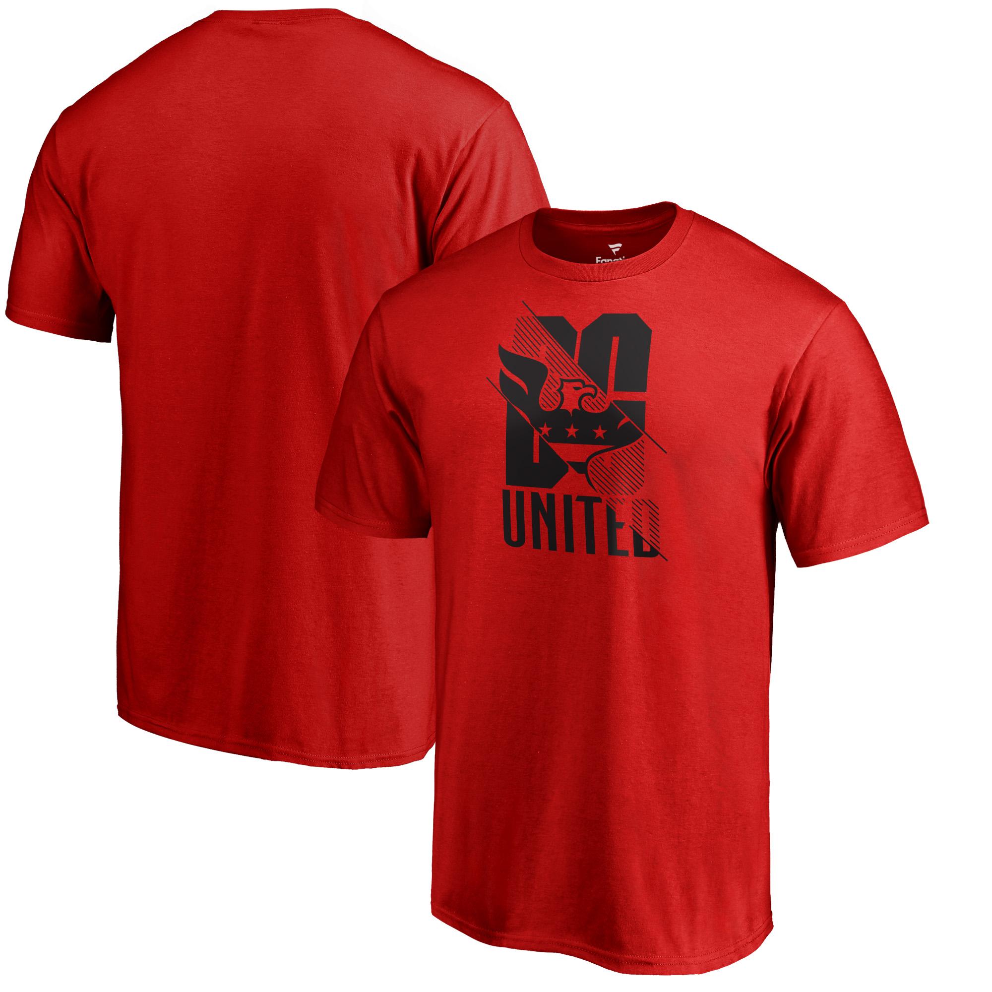 D.C. United Fanatics Branded League Trend Alternate T-Shirt - Red