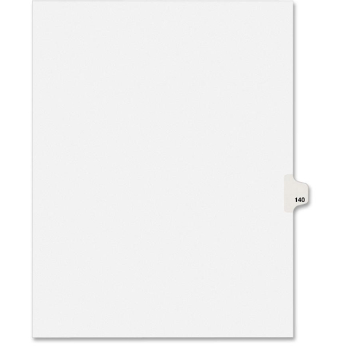 Avery Individual Side Tab Legal Exhibit Dividers 82356 by Avery