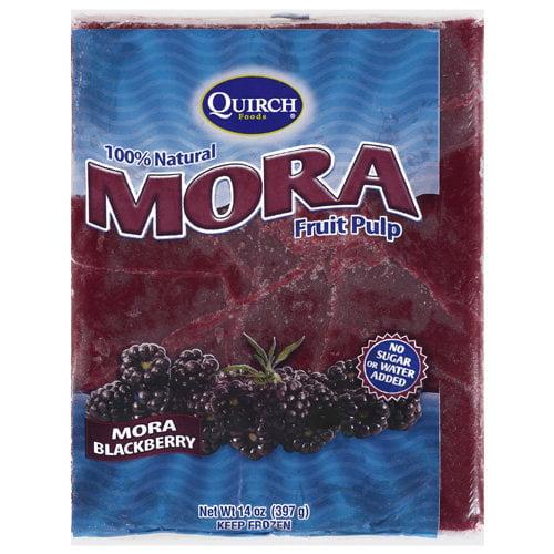Quirch Foods Mora Blackberry Fruit Pulp, 14 oz