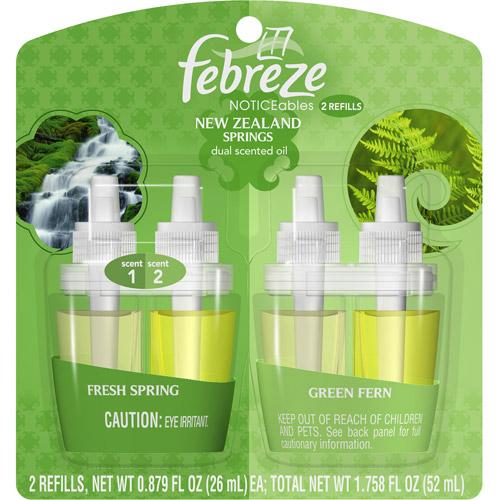 Febreze NOTICEables New Zealand Refill, 0.879 oz, 2ct