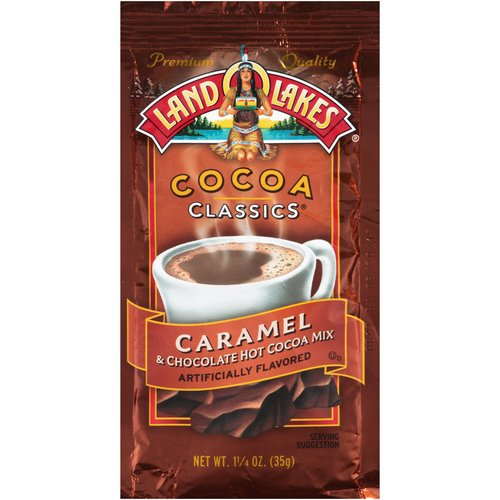Land O Lakes Cocoa Classics Caramel & Chocolate Hot Cocoa Mix 1.25 oz. Packet by Land O'Lakes Inc.