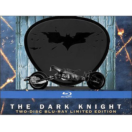 Dark Knight (Widescreen/ Special Edition/ Blu-ray/ Bat-Pod Display Case Limited Edition ) (Legends Of The Dark Knight Halloween Special)