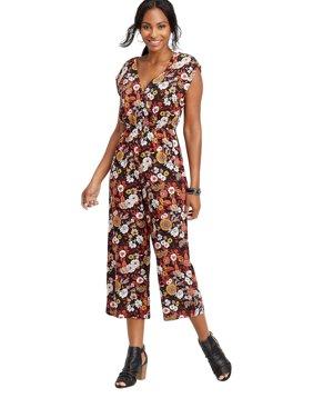 Floral Button Jumpsuit