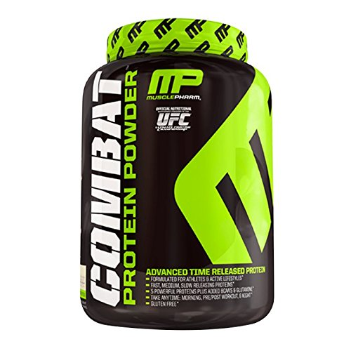 Muscle Pharm Combat Cinnamon Bun Powder, 4 Pound