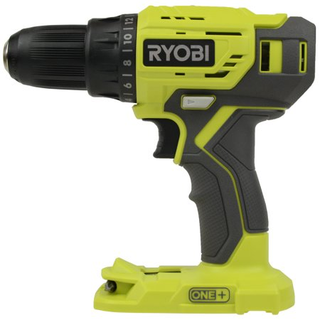 Ryobi P215 18V One+ 1/2in. Li-Ion Drill Driver - Bare Tool Ryobi Lithium Ion Drill