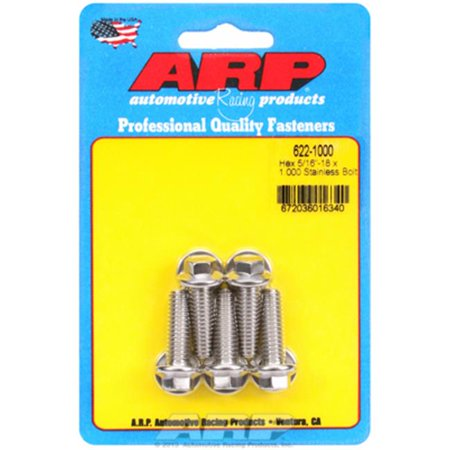 ARP 6221000 Sae Bolt Kit Stainless 300, 0.21-18 x 1.000 In. - image 1 de 1