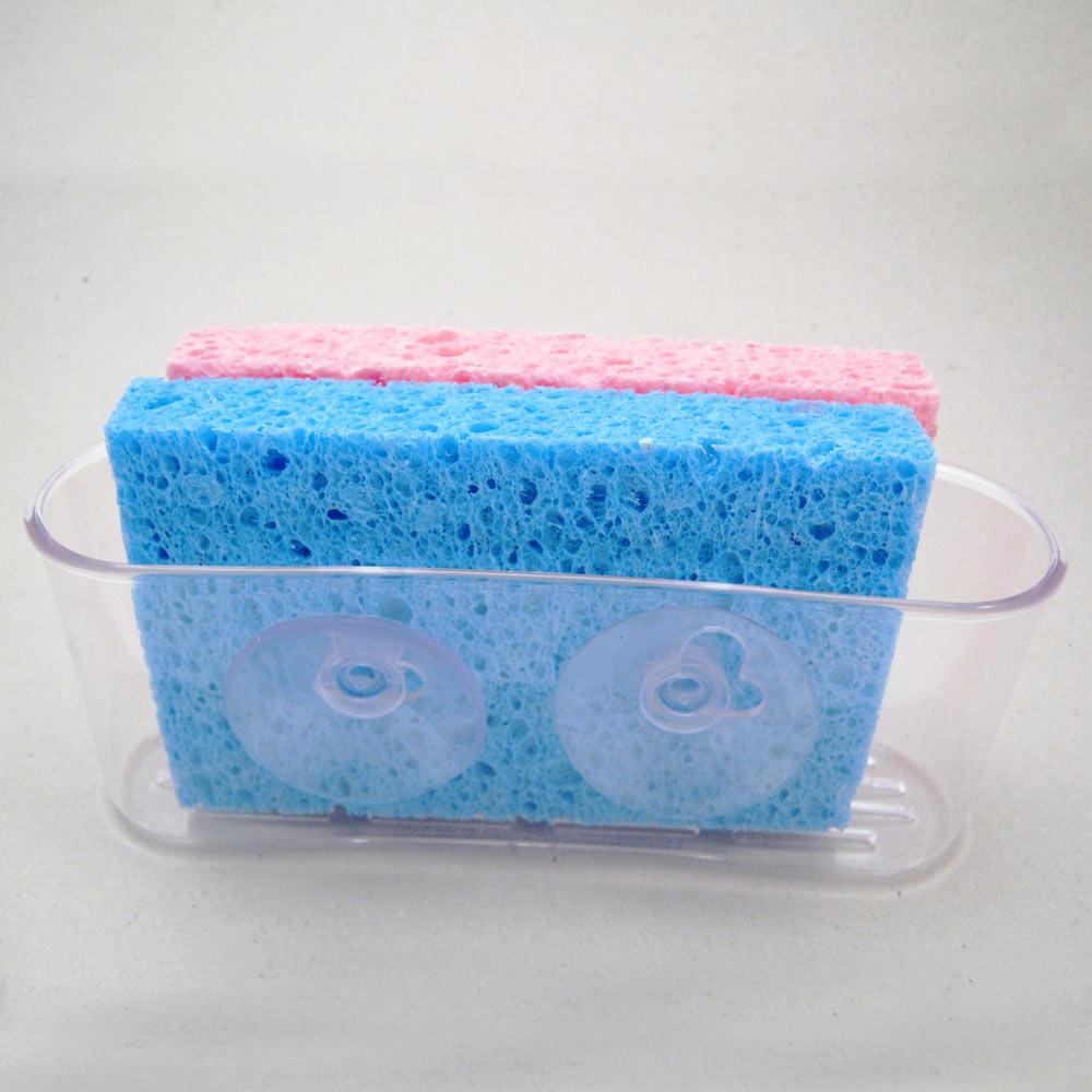 Kitchen Sink Sponge Holder kitchen sink caddy organizer sponge dish brush holder suction cup
