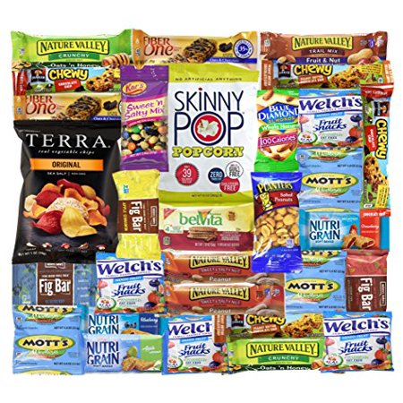 Healthy Snacks Care Package (Count 30) - Discover a whole new world of Healthy Snacks for $<!---->