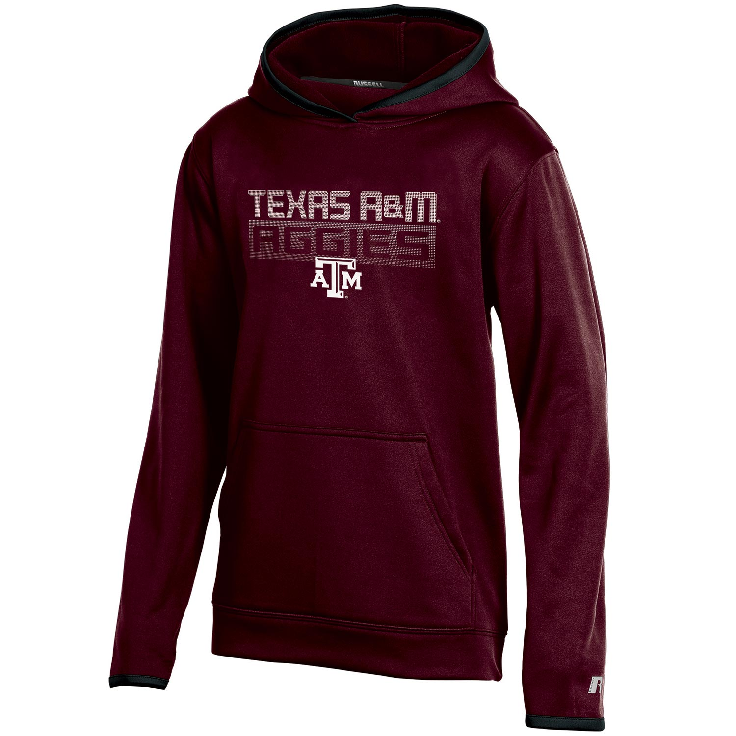 Youth Russell Maroon Texas A&M Aggies Pullover Hoodie