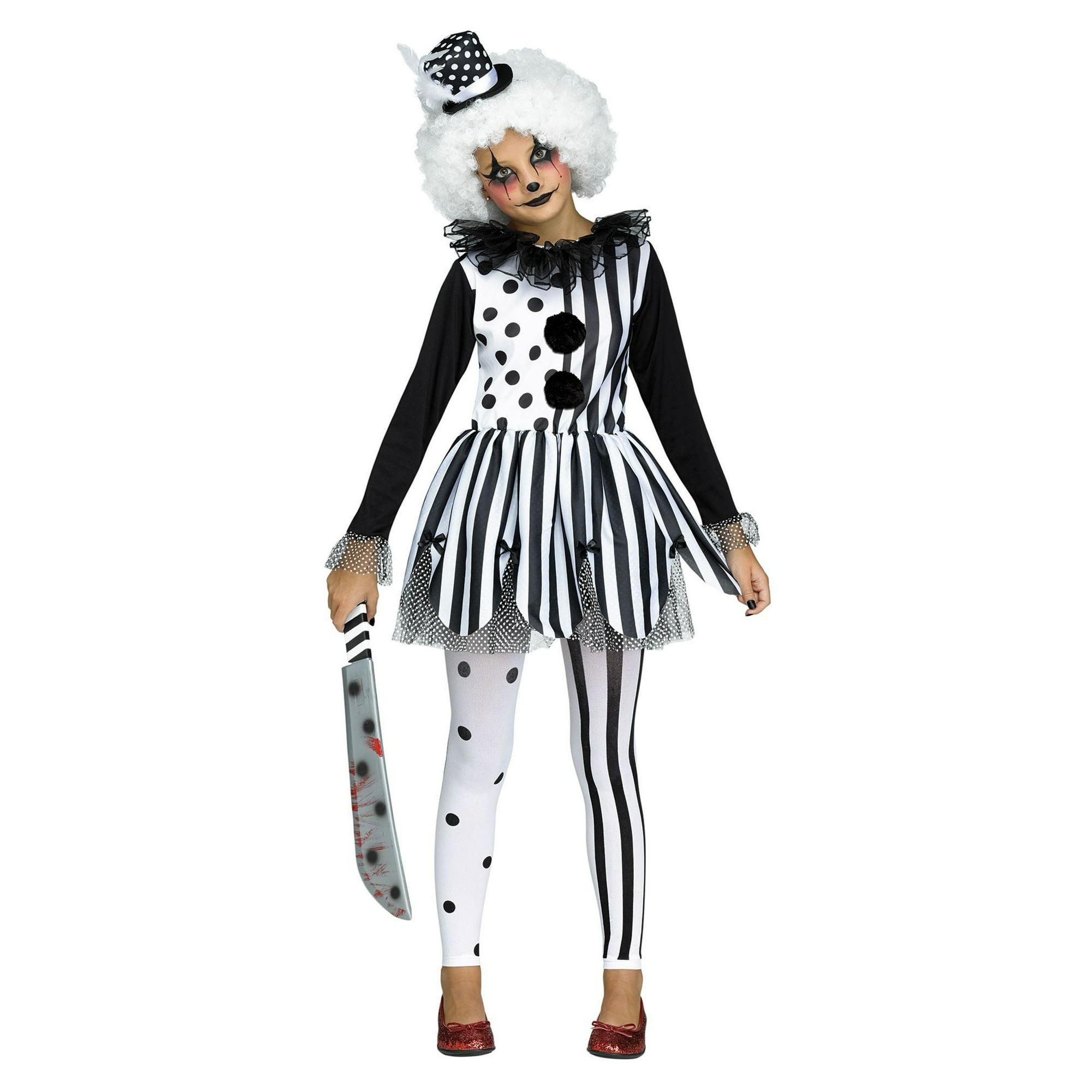 Clown Halloween Costumes For Girls.Killer Clown Girls Costume Walmart Canada
