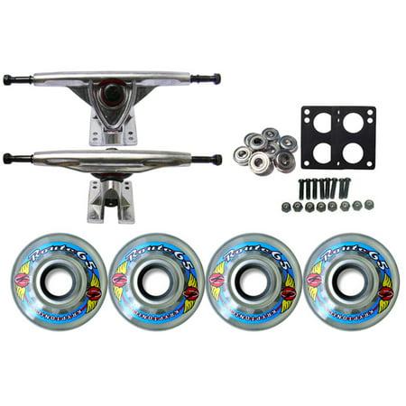 KRYPTONICS ROUTE Truck Wheel Pack 65mm CLEAR 180mm