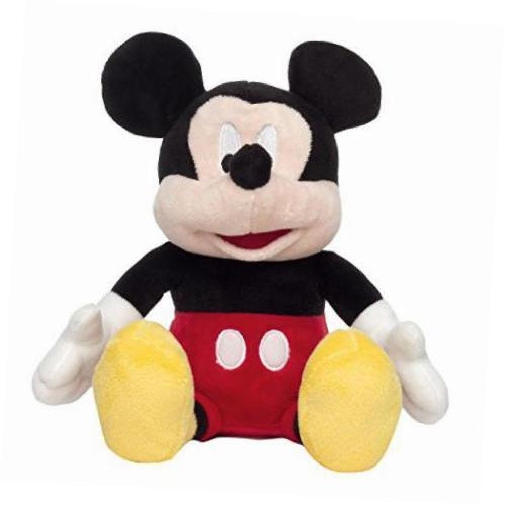 "Disney Mickey Mouse Plush Bank 9"" by"