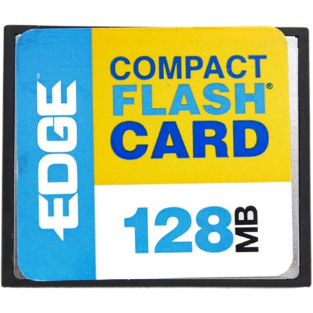 128mb 128 Bit - EDGE Tech 128MB Digital Media CompactFlash Card - 128 MB