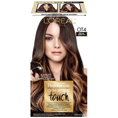 l 39 oreal paris superior preference ombre touch hair color dark brown. Black Bedroom Furniture Sets. Home Design Ideas