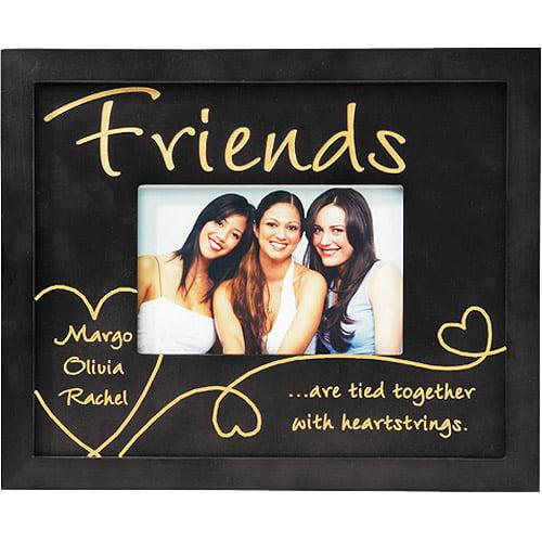 Heartstrings Wood Frame - Friends - Ebony
