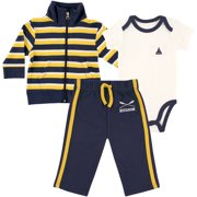 Newborn Baby Boys Jacket, Bodysuit & Pant - Rowing