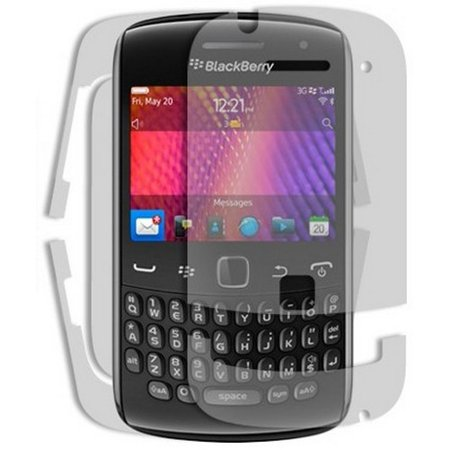 - Skinomi Clear Full Body Protector Phone Skin Cover for BlackBerry Curve 9350