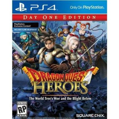 Square Enix 91739 Dragon Quest Heroes Se Ps4