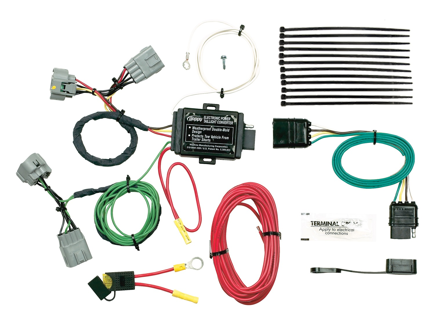 Hopkins Towing Solution 42545 Plug In Simple Vehicle To Trailer 2004 Workhorse Wiring Diagram Harness