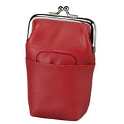 Size one size Women's Leather Framed Cigarette Case Wallet