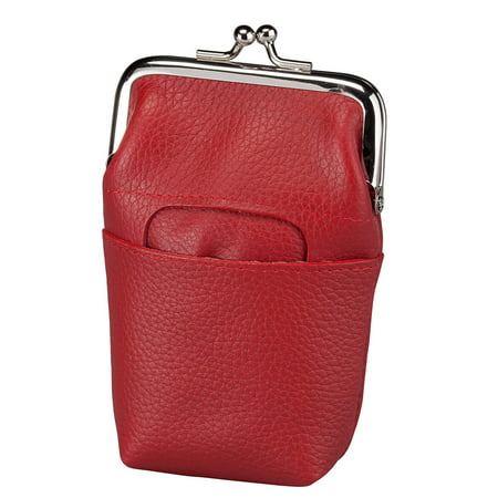 Size one size Women's Leather Framed Cigarette Case Wallet](Women's Cigarette Holder)
