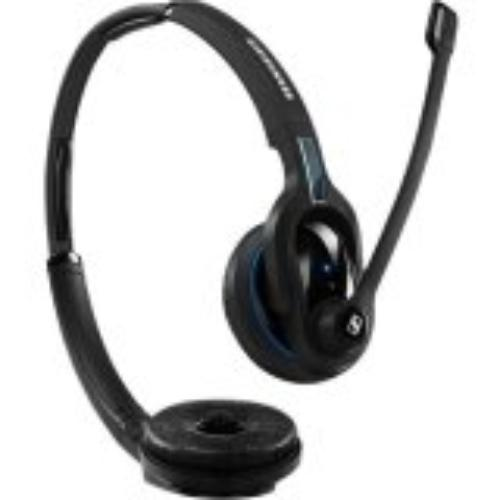 Sennheiser Mb Pro 2 Uc Ml Headset Stereo Wireless Bluetooth 82 Ft 150 Hz 15 Khz Over-the-head Binaural Supra-aural Noise... by Sennheiser