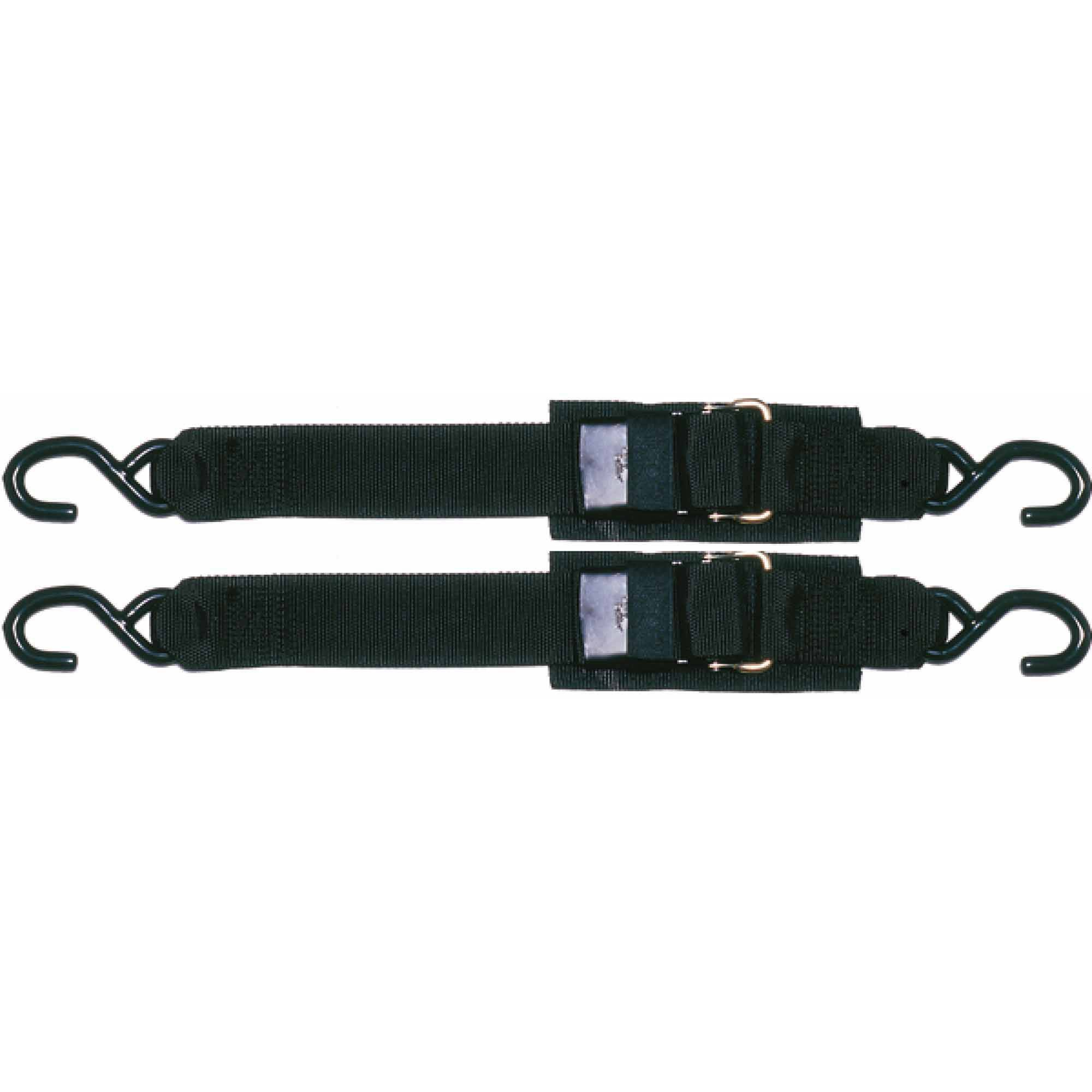 "Sta-Put 2"" Transom Tie Down with Quick Release Buckle, 2-Pack"