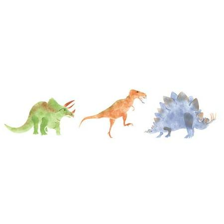 Jurassic Dinosaurs Wall Stencil SKU #593 by Designer Stencils