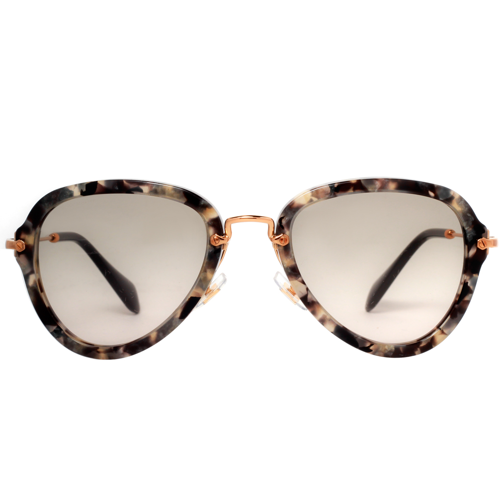 efd6a2d3b5 Miu Miu MU 03QS DHE3H2 - Havana Marble White Black - MIU MIU Sunglasses MU  03QS DHE3H2 Havana Marble White Black 55MM - Walmart.com