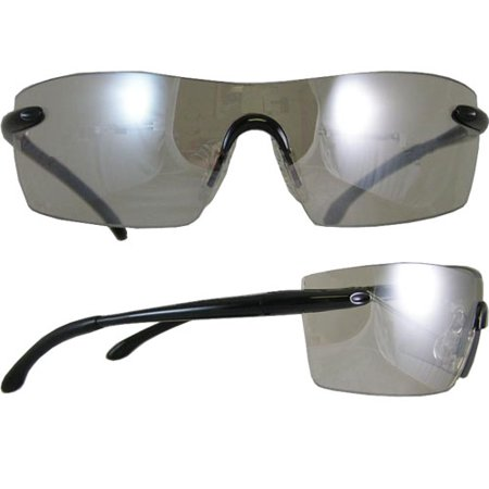 Smith and Wesson Caliber Safety Glasses, Black Frame with Indoor-Outdoor Anti-Fog Lens ()