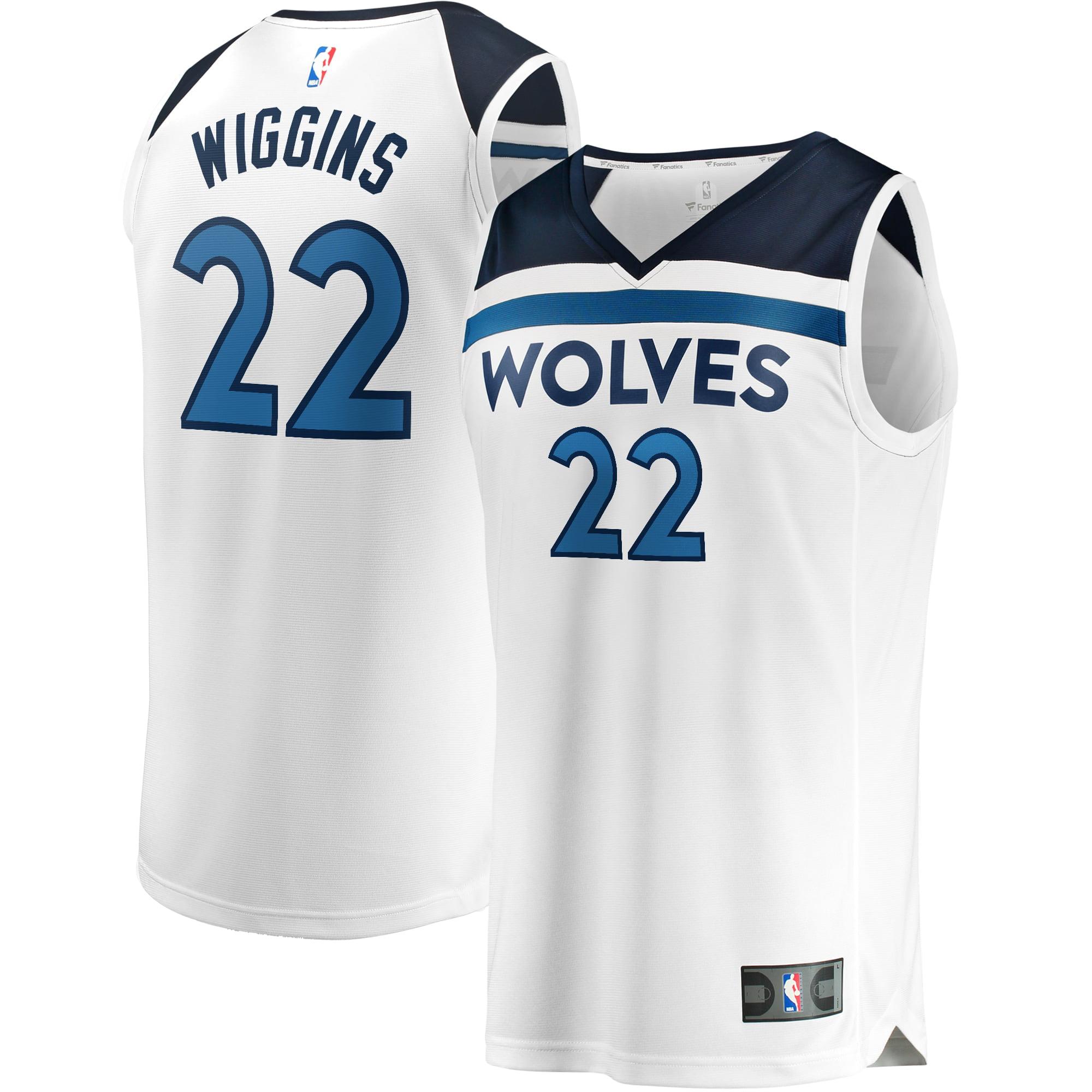 Andrew Wiggins Minnesota Timberwolves Fanatics Branded Youth Fast Break Replica Player Jersey - Association Edition - - Walmart.com