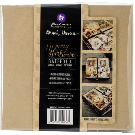 Memory Hardware Chipboard Journal, 6.5
