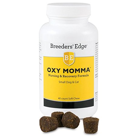 Revival Animal (Breeder's Edge Oxy Momma Soft Chews Sm Dog & Cat 40ct, Premium post natal supplement providing multiple benefits for use with lactating moms By Revival Animal Health,USA )