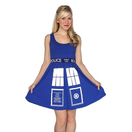 Tardis Halloween Costume (Doctor Who - Tardis Juniors A-Line)