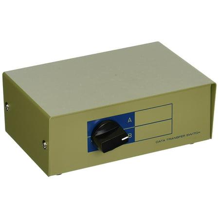 101371 RJ11/RJ12 AB 6P6C 2Way Switch Box, Convenient 2 way RJ11/12 (Phone jack) switch box By Monoprice ()
