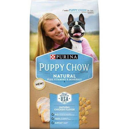 Purina Puppy Chow Vitamines Natural Plus et minéraux Nourriture pour chiens 3,8 lb Sac